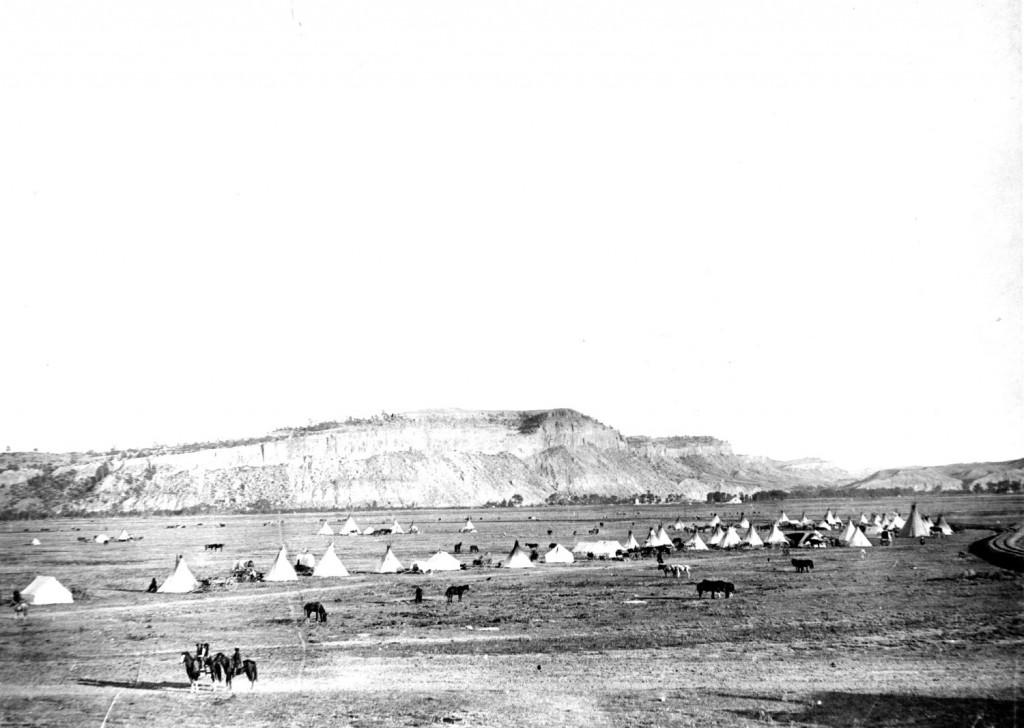 Indianer-Lager