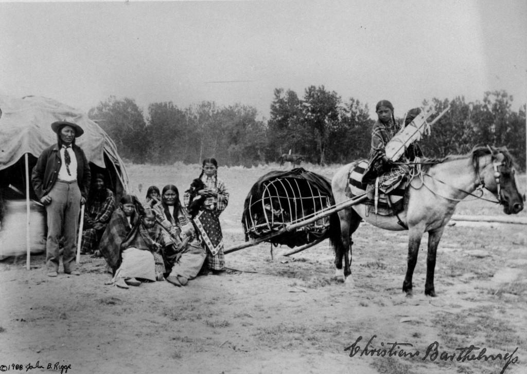 Nietenhosen für Goldgräber, Indianerfotos für die Regierung