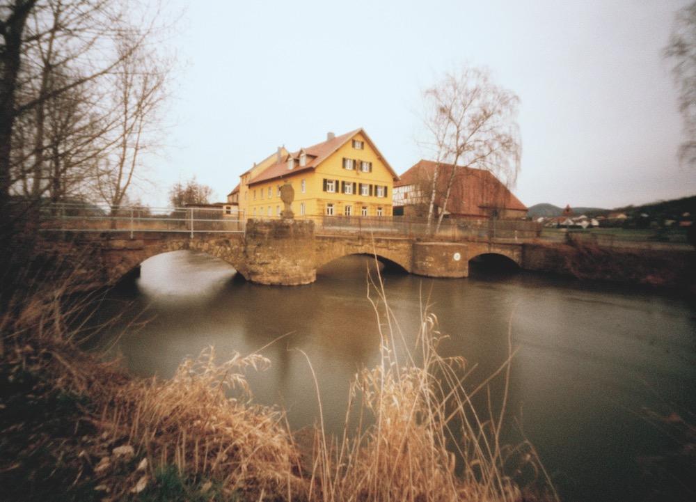 Brücke von Langendorf nach Westheim