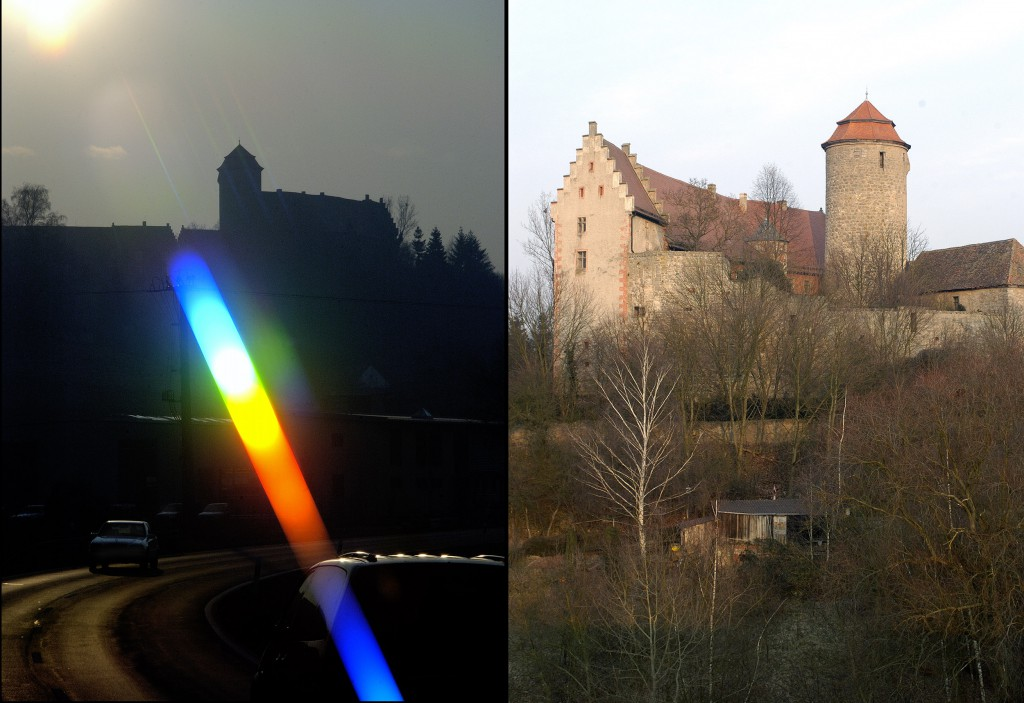 Burgen in Franken