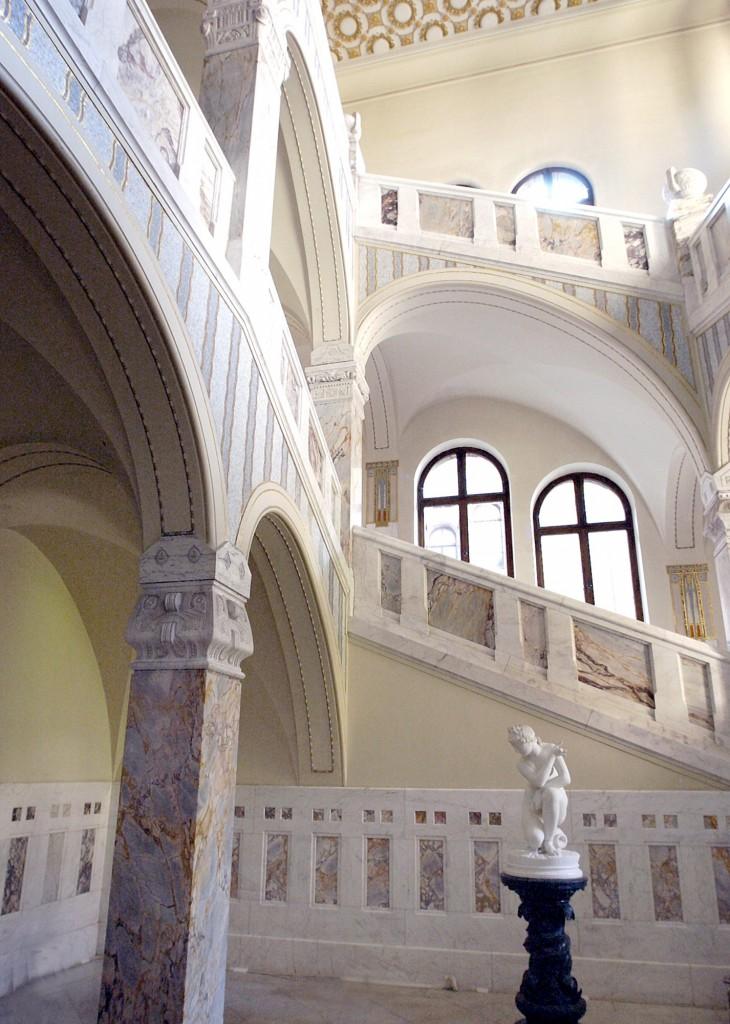Schloß Stein (Faber-Castell) Treppenhaus
