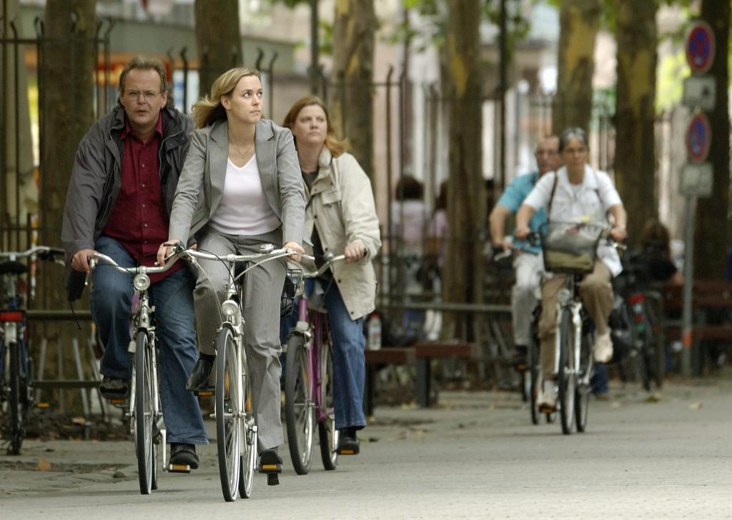 Die Stadt der 100 000 Fahrräder