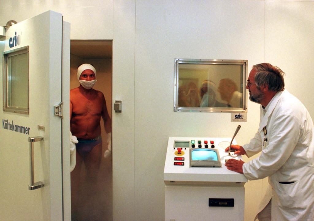 Kaeltekammer fuer Rheuma-Therapie