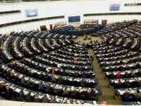 Blick ins EU-Parlament