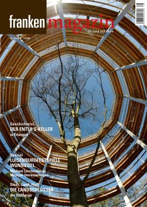 Unser Titelbild zeigt den Baumwipfelpfad bei Ebrach im Steigerwald