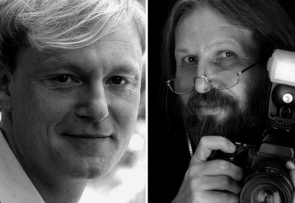 Herausgegeben wird das Magazin von Stefan Kendl (links)und Wolf-Dietrich Weissbach (rechts).