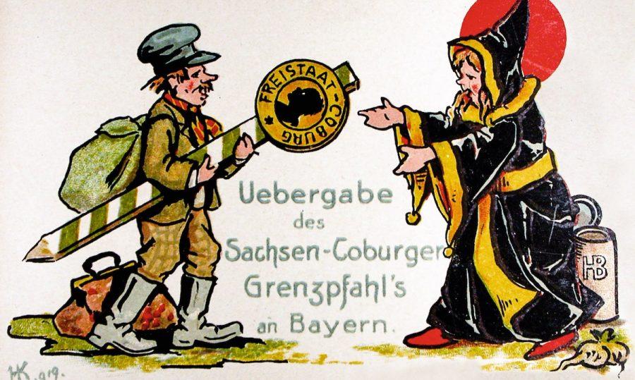 Anschluss Coburg an Bayern 1920