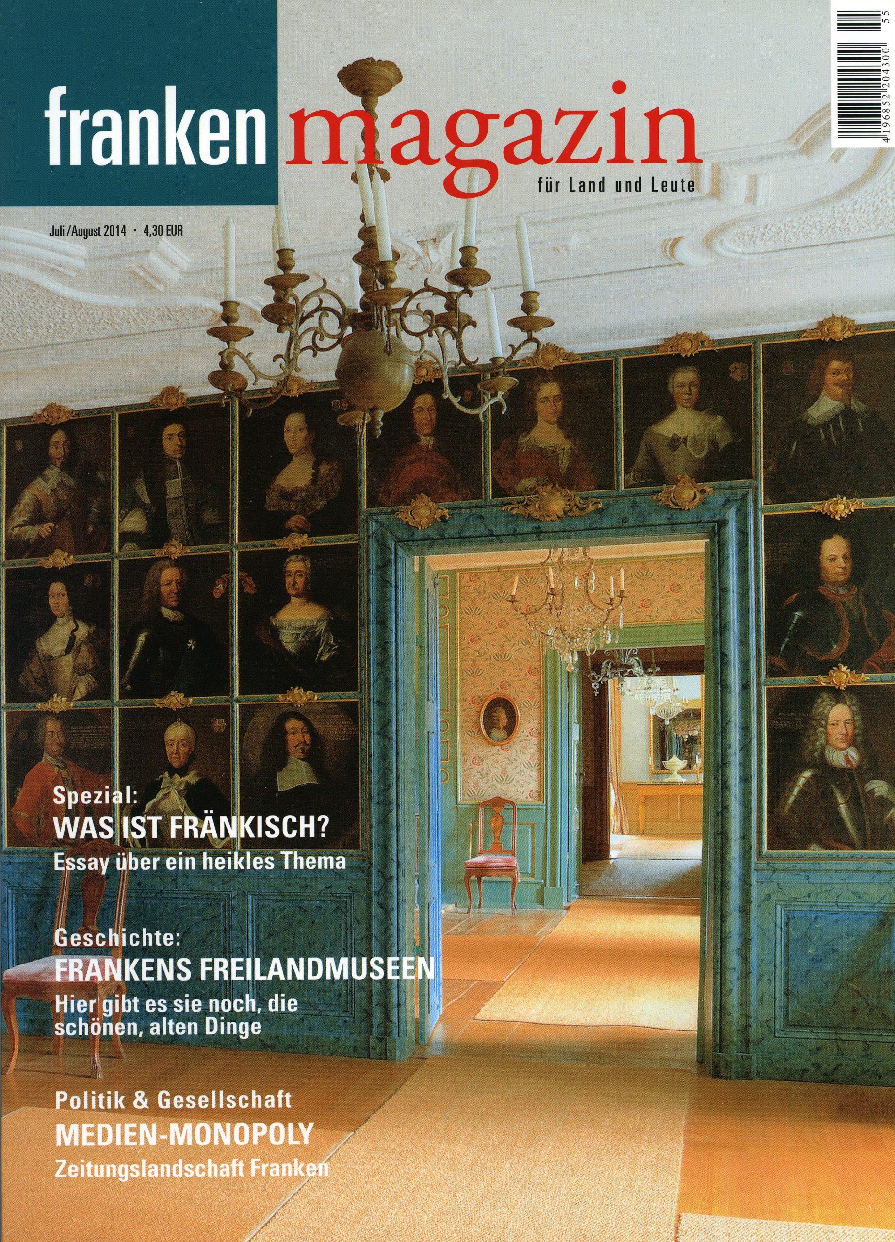 Franken-Magazin Juli / August 2014