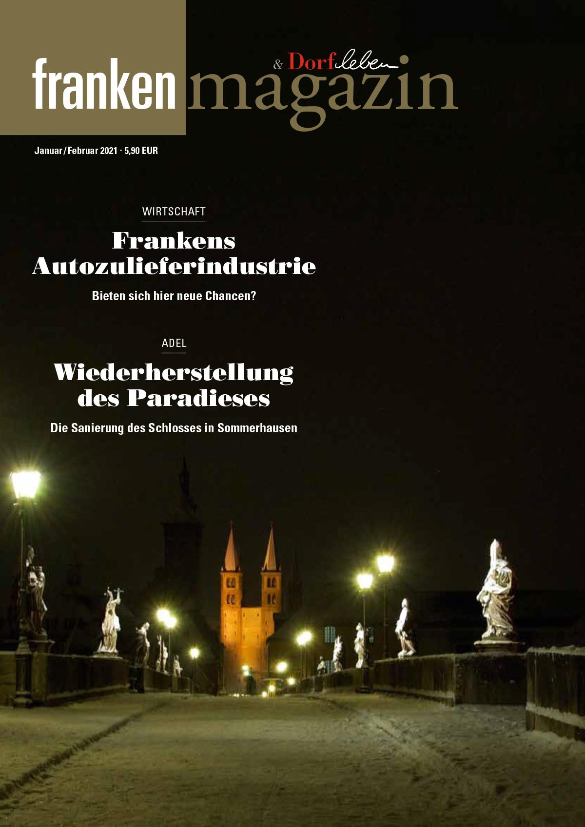Franken-Magazin - Ausgabe 01/02 2021