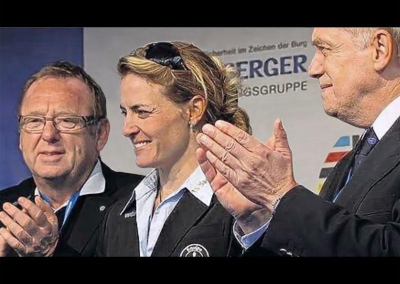 Herbert Oppelt, Regina Schleicher, Straßen-Weltmeisterin 2005, Hans-Peter Schmidt