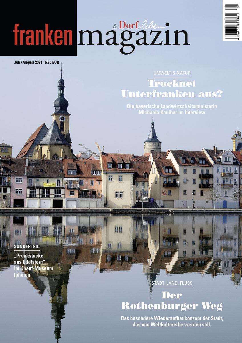 Franken-Magazin - Ausgabe 07/08 2021