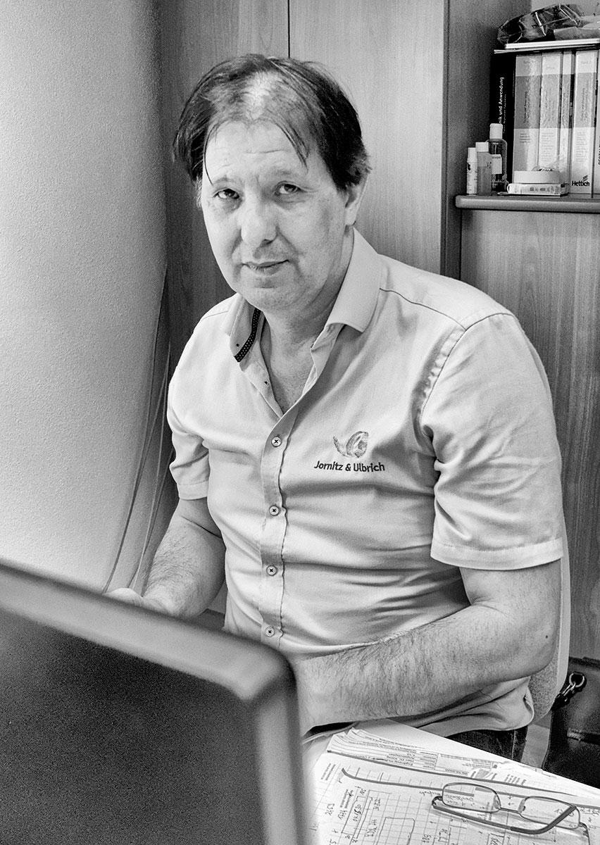 Firmenchef Gottfried Ulbrich